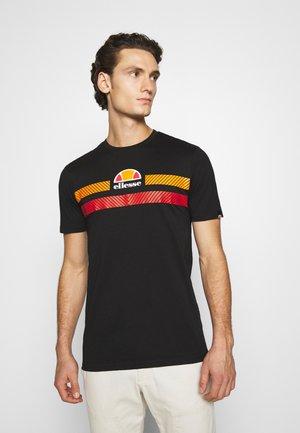 GLISENTA - Print T-shirt - black