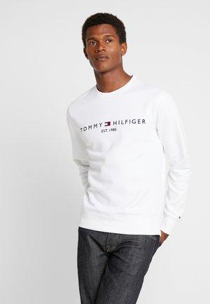LOGO  - Sweatshirt - white
