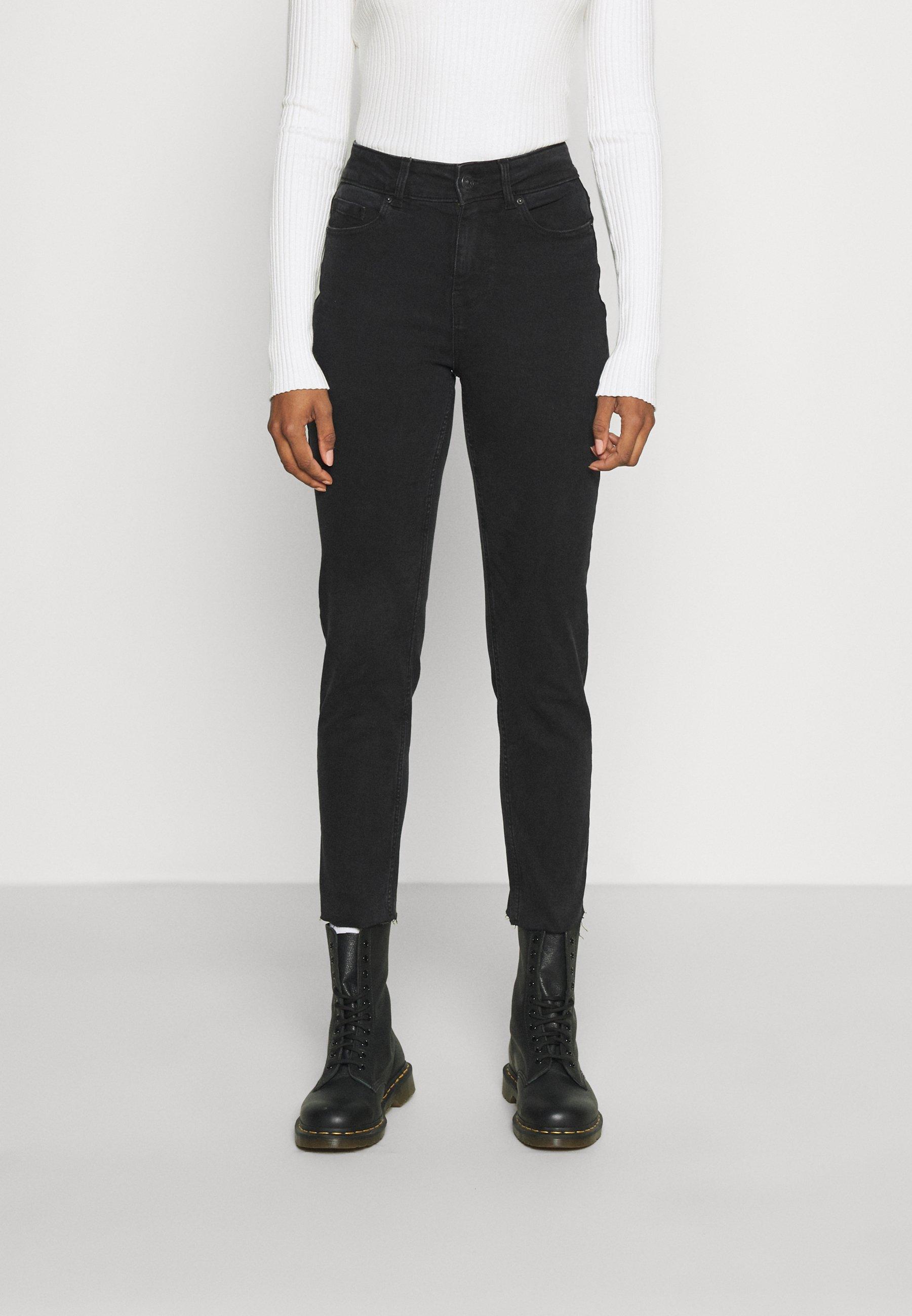 Women PCLUNA - Straight leg jeans