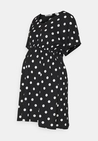 LOVE2WAIT - DRESS NURSING DOTS - Day dress - black - 0