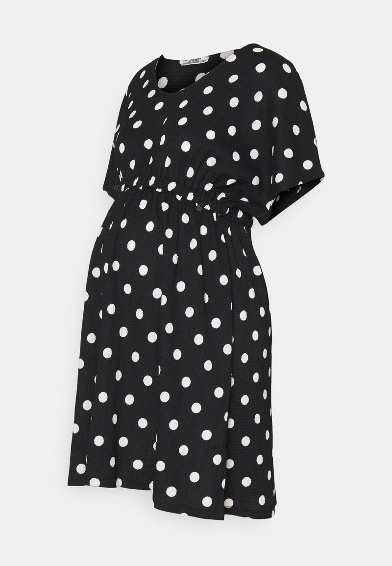 LOVE2WAIT - DRESS NURSING DOTS - Day dress - black