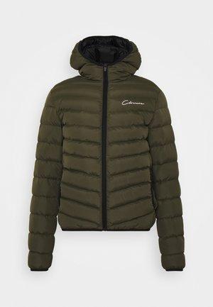 PUFFER JACKET - Zimní bunda - khaki