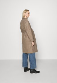 ONLY - OLMTRILLION LONG BELT COATIGAN  - Classic coat - brown - 2