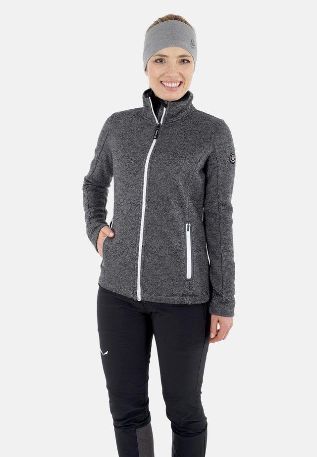 WALK  - veste en sweat zippée - schiefer