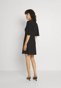 Vero Moda - VMODETTA DRESS - Jersey dress - black - 2