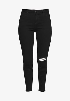 NIBBLE DARCY - Skinny-Farkut - black/authentic wash
