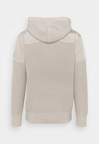 Calvin Klein Jeans - MIXED MEDIA HOODED - Hoodie - string - 1