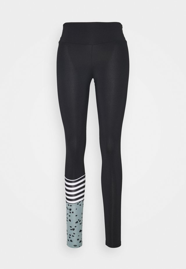 LEGGINGS SURF STYLE DOTS - Leggings - slategrey