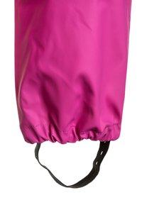 CeLaVi - RAINWEAR PANTS SOLID UNISEX - Rain trousers - real pink - 2
