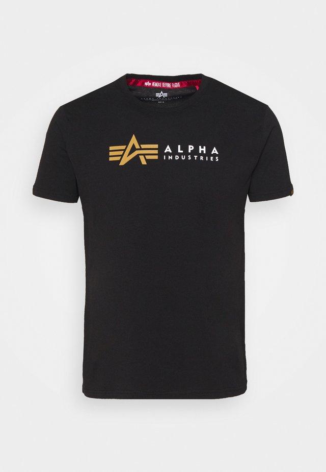 LABEL - T-shirts med print - black