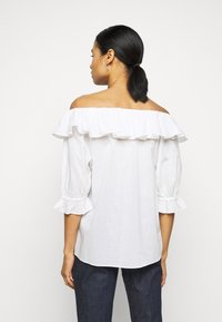 2nd Day - ELON THINKTWICE - Long sleeved top - bright white - 2