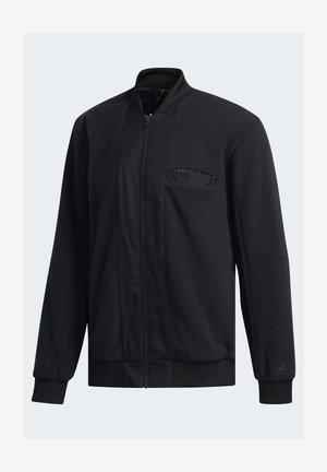 2020-01-01 HARDEN HOODIE - veste en sweat zippée - black