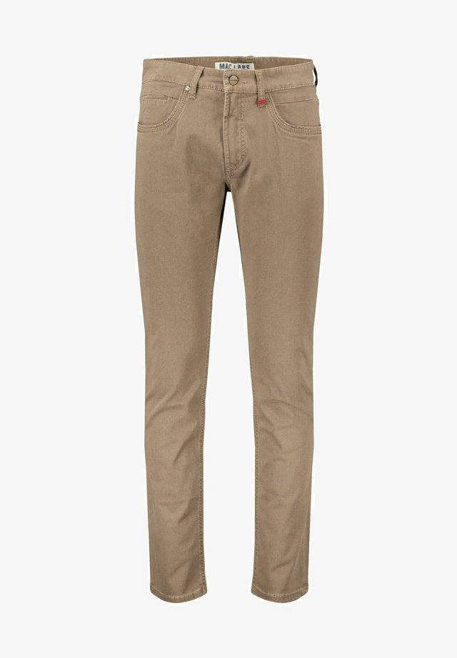ARNE PIPE - Straight leg jeans - sand