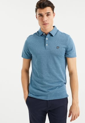 MET ALL-OVER JACQUARDDESSIN - Poloshirt - blue