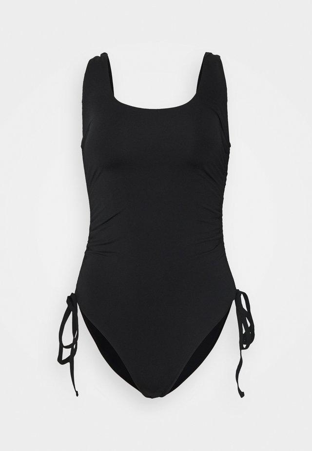 SOPHIA RUCHED SIDE  - Swimsuit - black