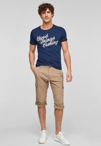 s.Oliver - Shorts - brown - 1