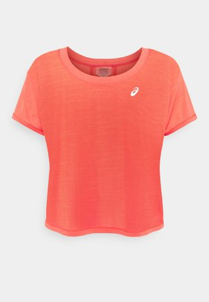 RACE CROP - Camiseta estampada - pink grapefruit