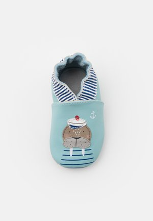 MORSE - Chaussons pour bébé - bleu clair