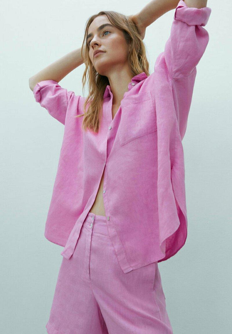 Massimo Dutti - MIT  - Shorts - neon pink