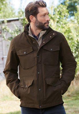 2-IN-1 - Waistcoat - brown