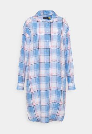 Košilové šaty - white/ blue