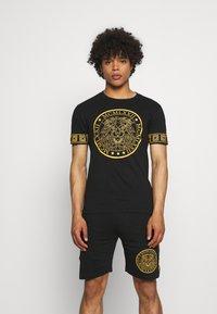 Brave Soul - LION SET  - Shorts - black - 0