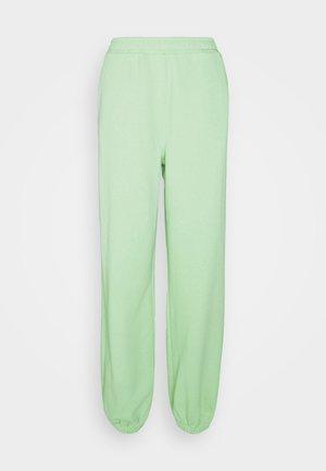 NA-KD X ZALANDO EXCLUSIVE - LOOSE FIT PANTS - Tracksuit bottoms - fresh green