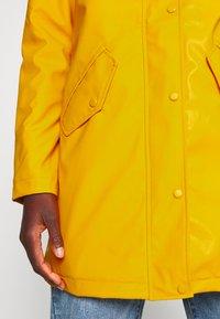 ONLY Tall - ONLSALLY RAINCOAT - Parka - golden yellow - 5