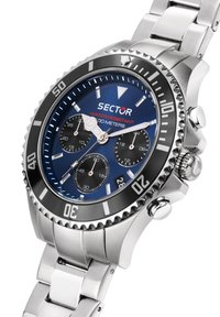 Sector - Chronograph watch - blau silber - 4