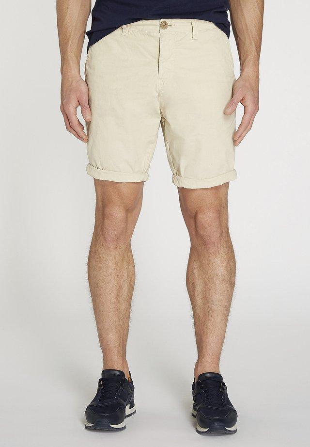 POPLIN - Short - beige