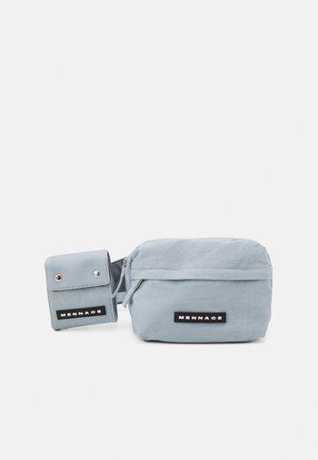 ROSEBOWL DOUBLE BELT BAG SET UNISEX - Bum bag - blue
