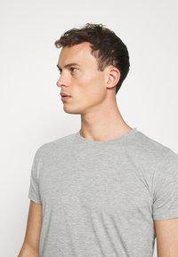 LTB - 2 PACK  - Basic T-shirt - grey mel/grey mel - 4