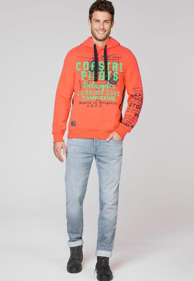 Hoodie - signal orange