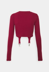 The Ragged Priest - LONGSLEEVE TOP TRIGGER STRAPS - Topper langermet - burgandy - 1