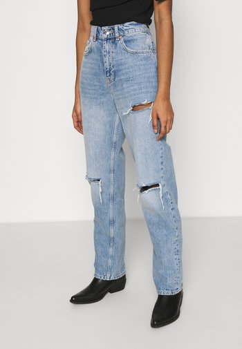 90S HIGH WAIST - Relaxed fit jeans - light vintage