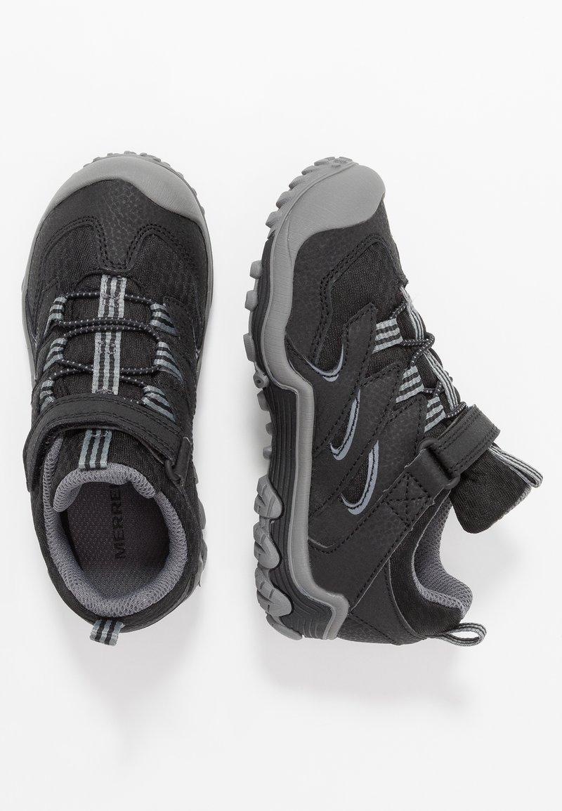Merrell - CHAMELEON 7 LOW WTRPF - Hiking shoes - black/grey