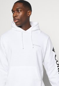 Columbia - VIEWMONTII SLEEVE GRAPHIC HOODIE - Sweat à capuche - white - 4