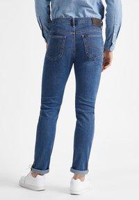 Lee - RIDER - Straight leg jeans - mid stone - 2