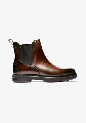 RR 4610 CHELSEA - Boots - brown full grain