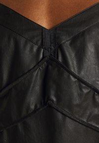 MM6 Maison Margiela - DRESS - Shift dress - black - 7
