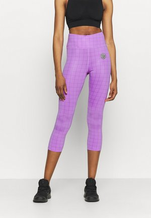 EPIC FAST CROP FEMME - Tights - fuchsia glow