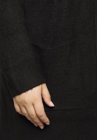 New Look Curves - CARDIGAN - Cardigan - black - 5