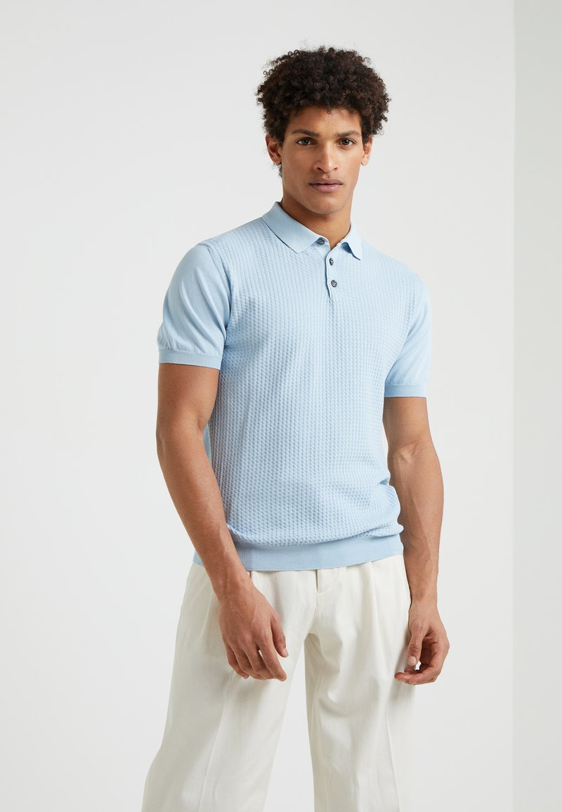 Sand Copenhagen - RETRO - Polo - blue