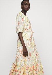 Lauren Ralph Lauren - VOILE DRESS - Day dress - col cream/coral - 3