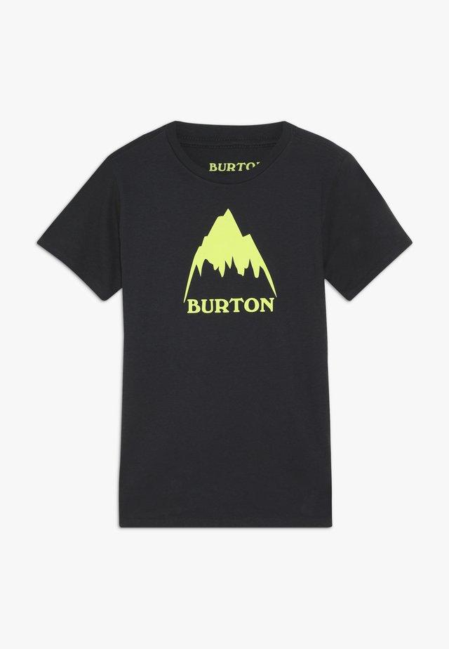 T-shirt z nadrukiem - true black