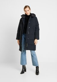 Lee - LONG PUFFER - Winter coat - black - 1