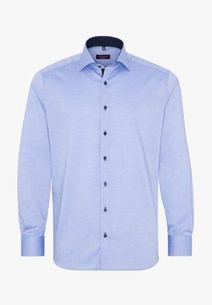 FITTED WAIST - Overhemd - mittelblau