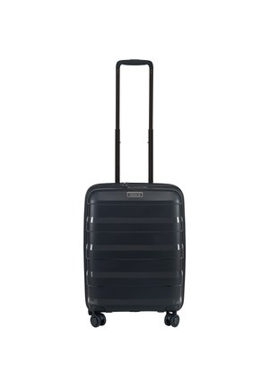 4-ROLLEN KABINENTROLLEY  - Wheeled suitcase - black