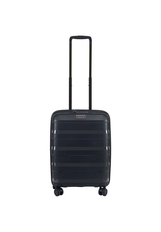 4-ROLLEN KABINENTROLLEY  - Wheeled suitcase - black