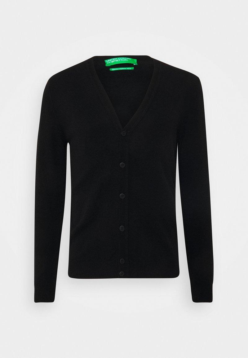 Benetton - BASIC  - Cardigan - black